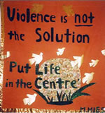 violence is not the solution